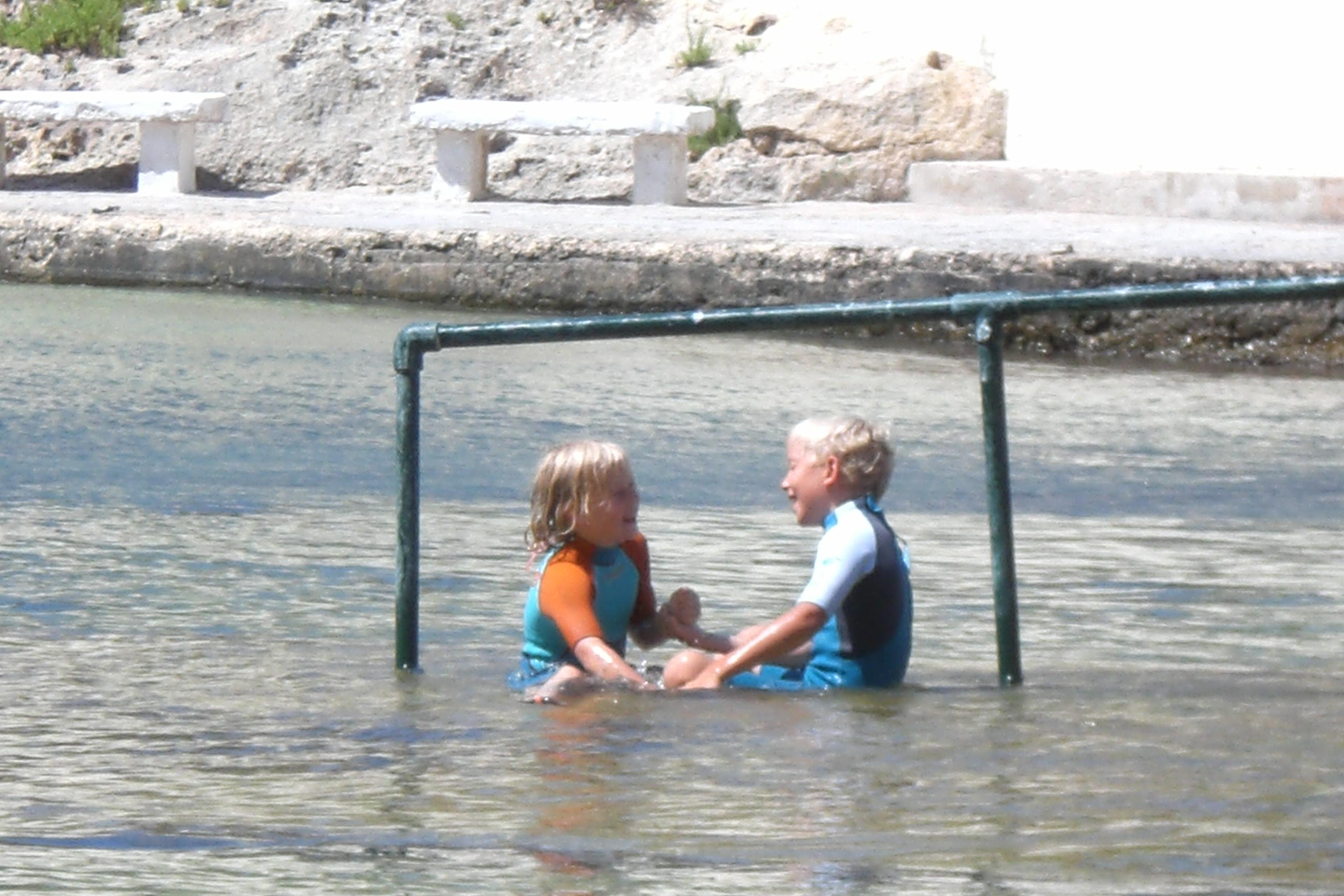 Plongee pour des enfants